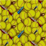 Crazy Yellow Softballs