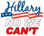 Hillary No We Can't