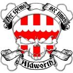 Aldworth Family Crest Skull