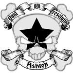 Ashton Family Crest Skull