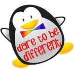 Dare To Be Different Penguin