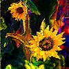 Sunflower Sisters Bright