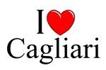 I Love (Heart) Cagliari, Italy
