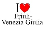 I Love (Heart) Friuli-Venezia Giulia, Italy