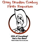 Crazy Drunken Cowboy Pirate Emporium