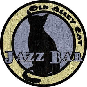 Retro Alley Cat Jazz Bar