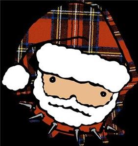 Cute Punk Santa