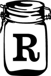 Canning Jar Monogram