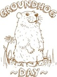 Cute Groundhog Day