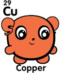 Cute Element Copper Cu