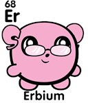 Cute Element Erbium Er