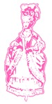 Pink Marie Antoinette T-shirts