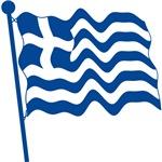 Greece Flag T-shirts