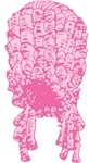 Pink Wig Graphic T-shirts