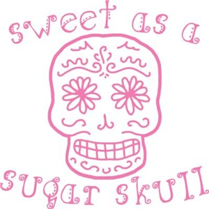 Sweet As A Sugar Skull Pink
