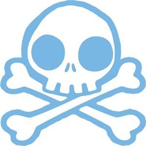 Cute Blue Skull
