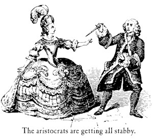 Aristocrats Getting Stabby