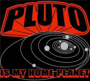 Pluto Is My Home Planet