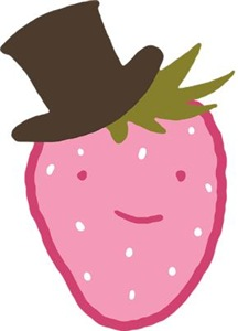 Strawberry In A Top Hat