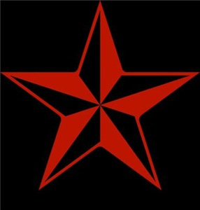 Naval Star Red