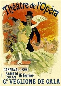 Vintage Opera Poster Art