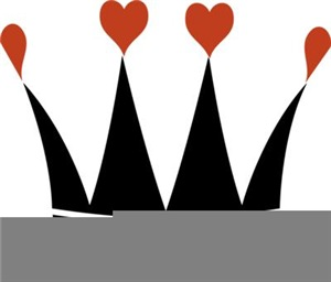 Crown With Hearts
