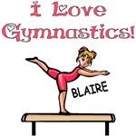 I Love Gymnastics (Blaire)