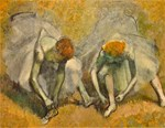 Famous Paintings: Two Ballerinas