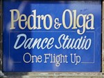 Old Fashion Signs: Dance Studio
