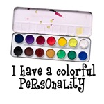 Artist Paints - Colorful Personality