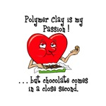 Polymer Clay and Chocolate
