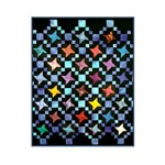 Fabric Crafts - Colorful Handmade Quilt