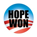 Hope Won - Barack Obama Logo