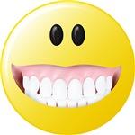 Big Gums Smiley Face