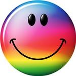 Rainbow Smiley Face