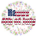 Happy 4th of July Fireworks t-shirts and gifts