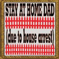 Stay at home dad due to house arrest
