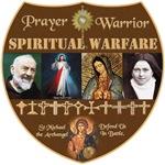 PRAYER WARRIOR SHIELD