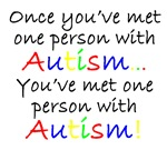 One person with Autism