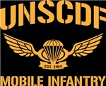 UNSCDF Mobile infantry (yellow)