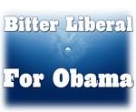 Bitter Liberal for Obama