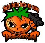 Gangsta Halloween Pumpkin