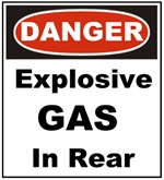 Farts and Explosive Gas