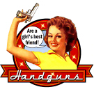 Handguns are a girl's best friend