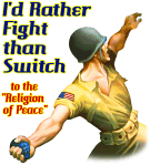 I'd rather fight than switch!
