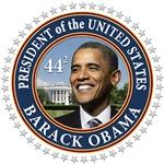 Obama 44 Presidential Seal