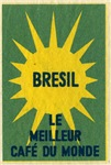 Brazil Sun Matchbox Label