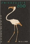 Flamingo II Matchbox Label