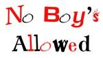 No Boys Allowed