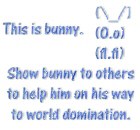 Show bunny to others
